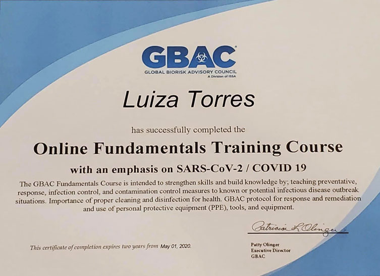 gbac certification